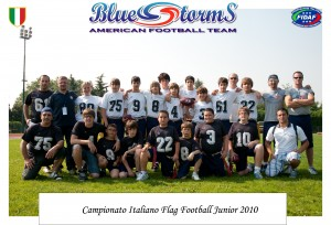 Blue Storms - Americano Football Team : Campionato Italiano Flag Football Junior 2010