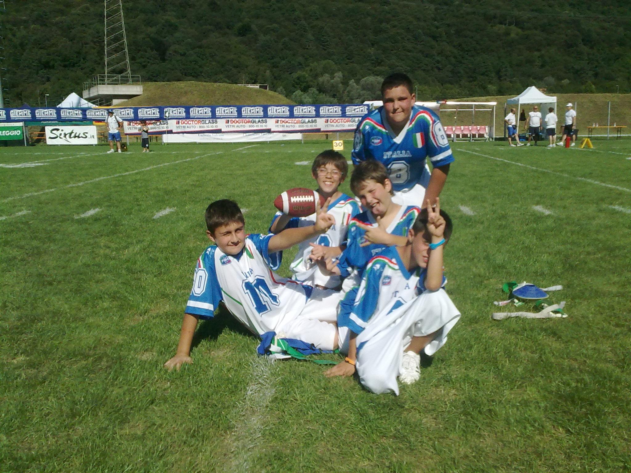 Nazionale Flag Junior U13